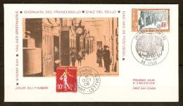 FRANCE FDC 1er JOUR LILLE 10/3/1979 JOURNÉE DU TIMBRE STAMP DAY - Y & T N° 2037 - FDC