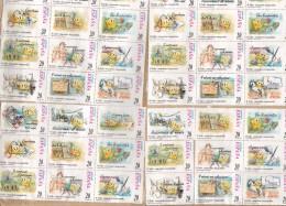 "Spain POSTAL EXPRÉS, Aeropuerto Palma De MALLORCA 2000 ""Big"" Cover Letra ATM / Frama & Booklet Markenheftchen (3 Scans) - Poststempel - Freistempel"