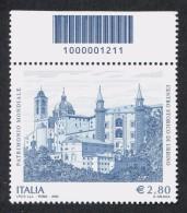 ITALIA 2008 Urbino Codice A Barre N° 1211 Integro MNH ** - 6. 1946-.. Repubblica