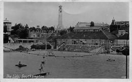The Lido - Southampton UK - Vintage Real Photo Postcard - Non Classés