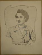 Dessin Au Crayon-Illustrateur -Helen Elizabeth Hunt Née Le 15 Juin 1963 à Culver City Est Une Actrice Américaine (6) - Dessins