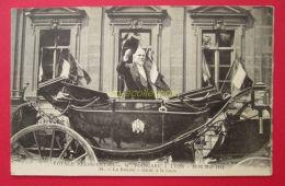 CPA 69 LYON Voyage Présidentiel POINCARE Mai 1914 La Bourse , Salut à La Foule - Lyon