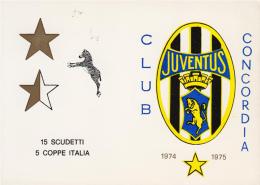 JUVENTUS CLUB CONCORDIA SULLA SECCHIA, MODENA 1974-75 - Squadra Team Calcio Football. No Stadio Stadium - Fg - Soccer