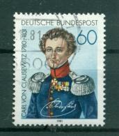 Allemagne -Germany 1982 - Michel N. 1115 - Carl Von Clausewitz - [7] République Fédérale