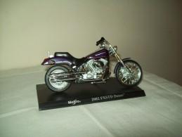 "Harley Davidson (2002 FXSTD Deuce)  ""Maisto""  Scala 1/18 - Motos"
