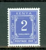 Kenya 1985   Yv TX 28**, 2 Shilling   MNH - Kenya (1963-...)