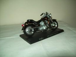 """Harley Davidson (1997 FLSTF Fat Boy)  """"Maisto""""  Scala 1/18 - Moto"""
