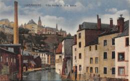 "05511 ""LUXEMBOURG - VILLE HAUTE ET VILLE BASSE""  CART. POST. ORIG. NON SPEDITA - Lussemburgo - Città"