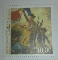 France  YT 3236   10 F  Multicolore  E.Delacroix  -  La Liberté Guidant Le Peuple - France