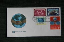 Enveloppe Timbrée - FDC - 1er Jour D´Emission - UNITED NATIONS - 1961-1970
