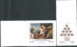 Italia 2015 ; Natale Religioso + Laico, Serie Completa. Angolo Superiore Destro. - 6. 1946-.. Repubblica