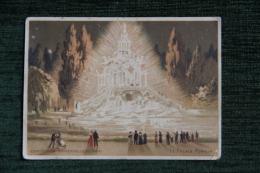 """CARTE DE VISITE - AGDE , Grand Magasin De Nouveautés, Vve POUJOL, """" AUX CINQ PARTIES DU MONDE """" Place De La Mairie. - Visiting Cards"""