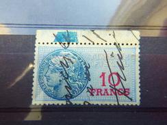 Timbre Fiscal 10 Francs - Revenue Stamps