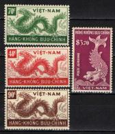 VIETNAM DEL SUD - 1952 - DRAGHI - NUOVI MNH - Vietnam