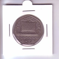 Isle Of Man 50 Pence - Viking Ship (1980) - Regional Coins