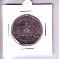 Isle Of Man 50 Pence - Christmas (1982) R! - Regional Coins