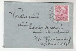 1908 Pilsen Czech AUSTRIA  Stamps COVER Plzen - 1850-1918 Empire