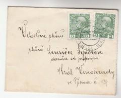 1909 Pilsen Czech AUSTRIA  Stamps COVER Plzen - 1850-1918 Empire