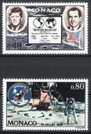 MONACO 1970 - SERIE N° 829 Et 830 - 2 TP NEUFS ** - Monaco