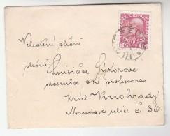 1910 Eulau Jilove Czech AUSTRIA  Stamps COVER - 1850-1918 Empire