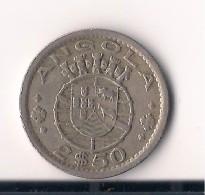 ANGOLA 2,5 ESCUDOS 1956 - Angola