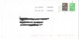 FRANCIA - France - 2009 - 0,05 € Marianne De Lamouche + Marianne De Lamouche - Viaggiata Da 39289A Per La Calott... - Francia