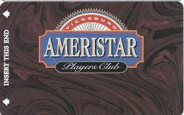 Ameristar Casino Vicksburg, MS - Slot Card - Copyright 2001 (BLANK) - Casino Cards