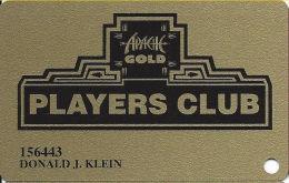 Apache Gold Casino San Carlos, AZ Slot Card - PPC Bottom Right On Reverse - Apache Gold Player - Casino Cards