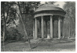 (526) Very Old Postcard - Carte Ancienne - France - Temple Of Love, Versailles (cut On Left) - Monuments