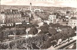 LIMOGES (87) Place Jourdan Et Avenue De La Gare En 1960    CPSM  PF - Limoges