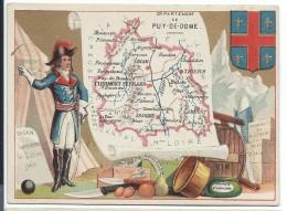 Départements De France/ImagePédagogique/PUY De DOME / Clermont-Ferrand/Vers 1880-1890   CRD63 - Autres