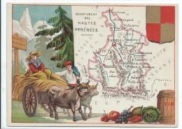 Départements De France/ImagePédagogique/HAUTES  PYRENEES/Tarbes /Vers 1880-1890   CRD65 - Autres