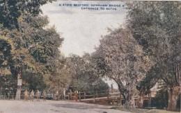 BEDFORD - NEWNHAM BRIDGE @ ENTRANCE TO BATHS - Bedford