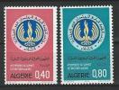 """Algerie YT 576 & 577 """" Pays Non Alignés """" 1973 Neuf** - Algérie (1962-...)"""