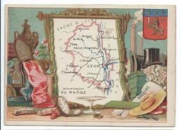 Départements De France/ImagePédagogique/ RHONE/ Lyon/Vers 1880-1890   CRD69 - Autres