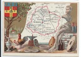 Départements De France/ImagePédagogique/ SARTHE / Le Mans/Vers 1880-1890   CRD72 - Autres