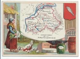 Départements De France/Image Pédagogique/HAUTE  SAVOIE / Annecy /Vers 1880-1890   CRD74 - Autres