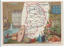 Départements De France/Image Pédagogique/SEINE & MARNE / Melun/Vers 1880-1890   CRD77 - Autres