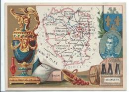 Départements De France/Image Pédagogique/SEINE & OISE / Versailles/Vers 1880-1890   CRD78 - Autres