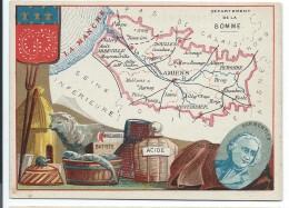 Départements De France/Image Pédagogique/SOMME / Amiens /Vers 1880-1890   CRD80 - Autres