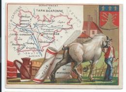 Départements De France/Image Pédagogique/TARN & GARONNE  / Montauban /Vers 1880-1890   CRD82 - Autres