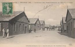 CPA Orange Intérieur Des Casernements Du 55e D'Artillerie - Animée - Kazerne