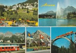 AROSA   TRAIN  ZUG - GR Grisons