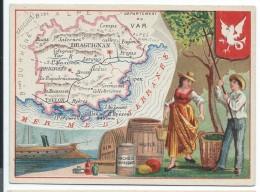 Départements De France/Image Pédagogique/VAR / Draguignan/Vers 1880-1890   CRD83 - Autres