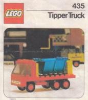 Lego 435 Ville Camion Benne Avec Copie Couleur Du Plan 100 % Complet - Lego System