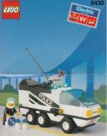 Lego 6430 Ville Voiture De Police Avec Plan 100 % Complet - Lego System