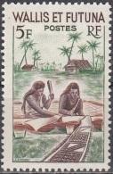 Wallis & Futuna 1957 Yvert 157A Neuf ** Cote (2015) 1.40 Euro Fabrication D'un Tapa - Wallis-Et-Futuna