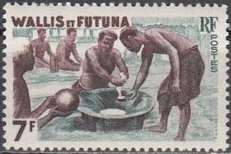 Wallis & Futuna 1957 Yvert 157B Neuf ** Cote (2015) 1.60 Euro Confection Du Kaua - Neufs