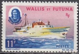 Wallis & Futuna 1965 Yvert 171 Neuf ** Cote (2015) 8.50 Euro Bateau Reine Amelia - Wallis-Et-Futuna