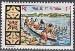 Wallis & Futuna 1969 Yvert 174 Neuf ** Cote (2015) 1.60 Euro Pirogue - Wallis-Et-Futuna